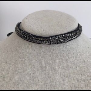 Stella & Dot Embroidered Emme Necklace
